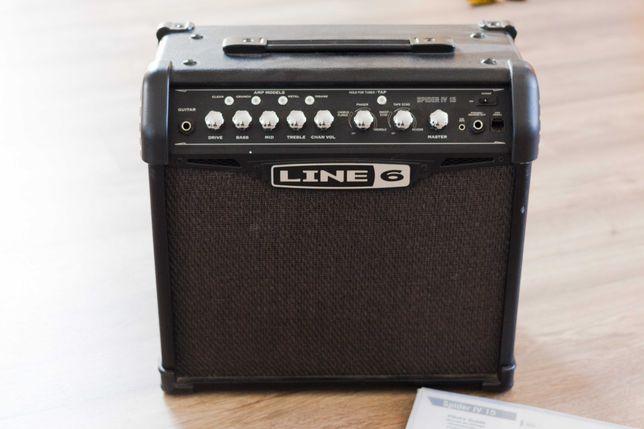 Amplificador Line 6 Spider IV 15W - Guitarra