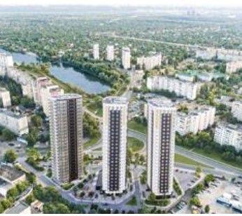 Без % 3 ком. двухуровневая квартира ЖК Радужный ул. Кибальчича 2
