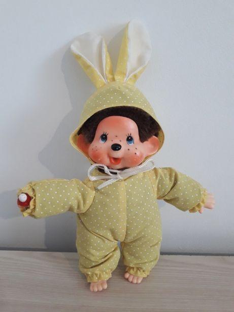sekiguchi monchhichi króliczek zajączek maskotka lalka małpka PRL