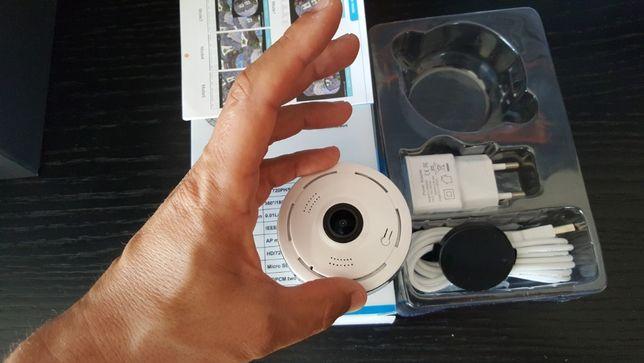 camera 360 HD com gravação e visualização via internet em telemovel