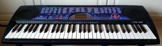 Keyboard Casio, Ekran, MIDI, stan bardzo dobry