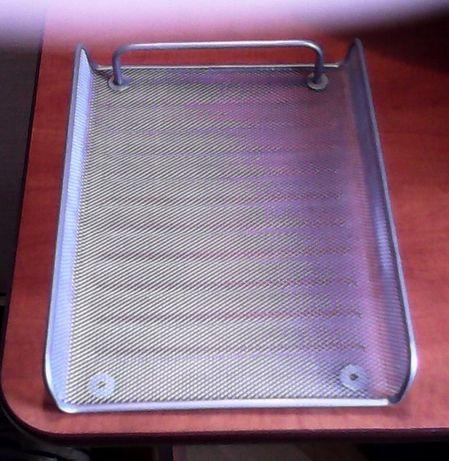 Лоток для бумаги горизонтальный металлический А4