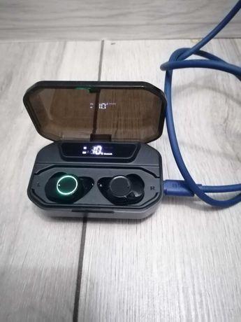 Słuchawki bezprzewodowe, okazja! Służy też jako powerbank! 2w1