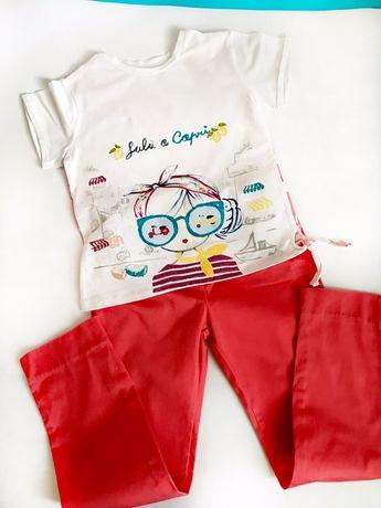Костюм брюки футболка Chicco 8лет