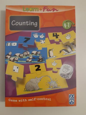 Nowa edukacyjna gra dla dzieci. Counting - liczenie super prezent