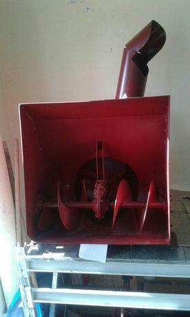 Снегоуборочная приставка для мотоблока с воздушным охлаждением