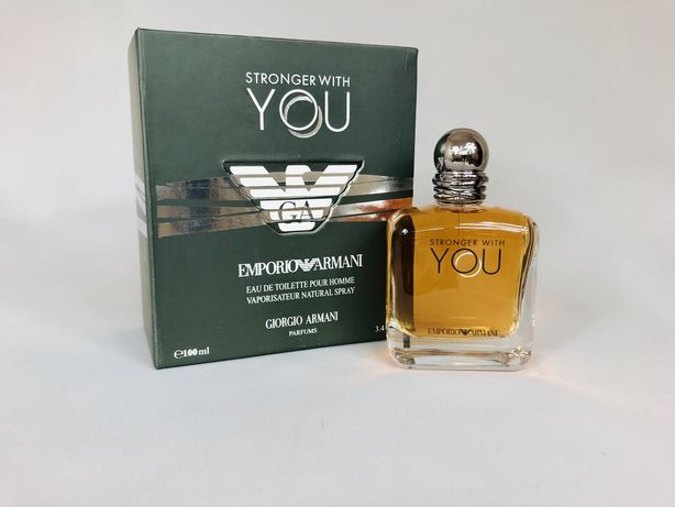 LIMITED EDITION Emporio Armani - Stronger With YOU A-Z TESTERY
