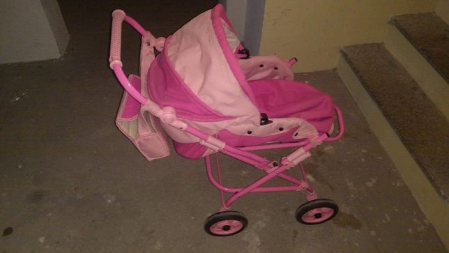 Wózek dla dziewczynki