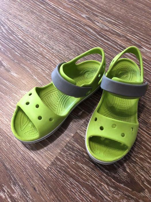 Кроксы crocs C13 оригинал босоножки резиновые Новая Каховка - изображение 1
