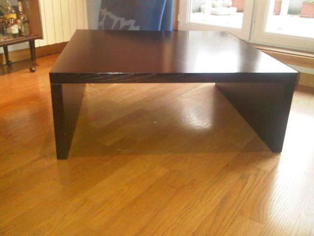 Mesa de sala em madeira 90x90x35cm