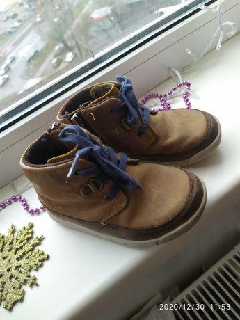 Ботинки обувь, сапоги Clarks кожанные
