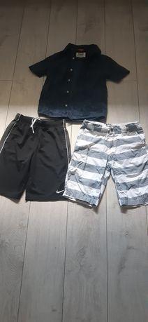Nike spodenki koszula 140
