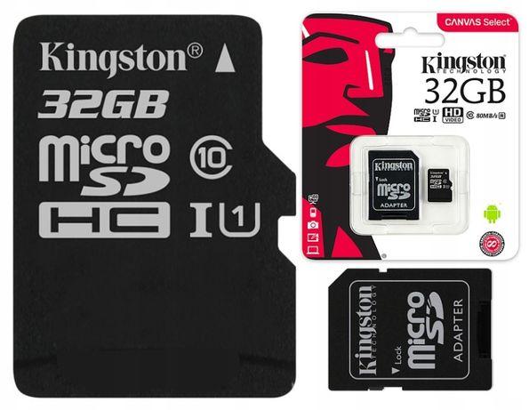 kingstone karta 32 gb class 10 uhs szybka klasa 10
