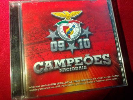 cd campeoes nacionais Benfica 2009/2010