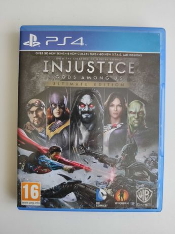 Injustice Gods Among Us Ultimate Edition PL PS4