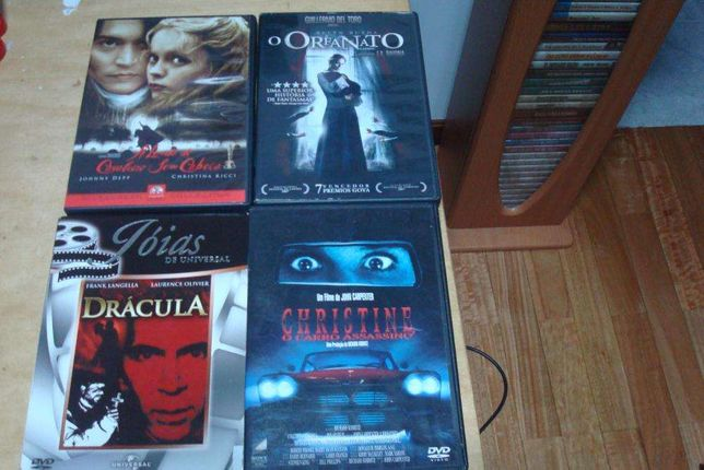 12 dvds originais terror,sharknado,anaconda etc