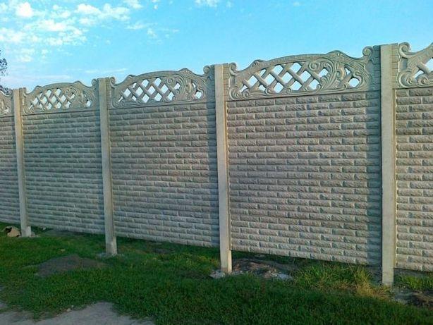 установка бетонного забора вінниця