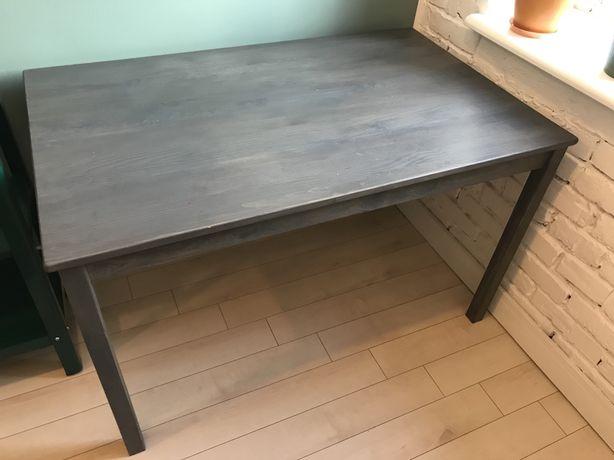 Biurko/stół Ikea Ingo pomalowane, vintage, lita sosna