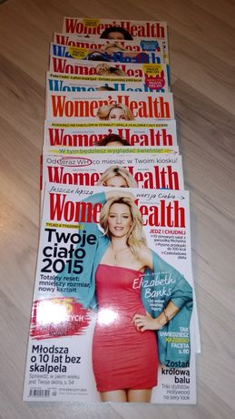 Woman's Health cały rocznik 2015