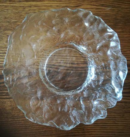 Duży talerz patera kryształ