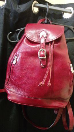 Рюкзак кожаный кожаный рюкзак Италия Идеал