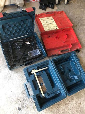 Caixas máquinas (Hilti/Bosch)