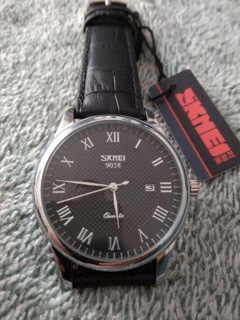 Piekny zegarek Skmei z datownikiem Prezent