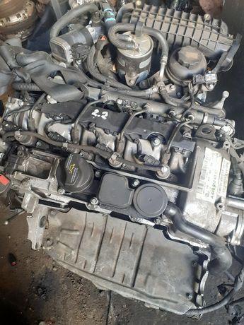 Двигатель мотор для Mercedes CLK E clas 2.2 cdi.2003-08 год.