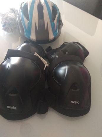 Proteção para criança andar de bicicleta , trotineta e patins