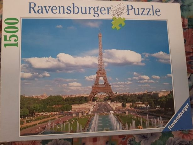 Puzzle Paris Torre Eiffel