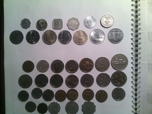 Монеты Индия, Ближний Восток, Ирак, Йемен, Катар