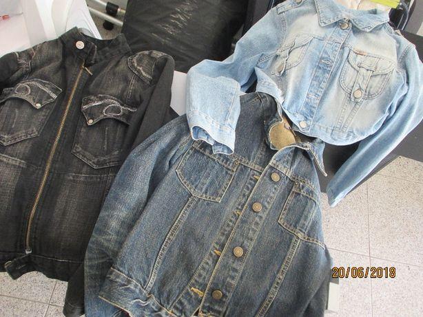 3 blusóes de ganga de senhora