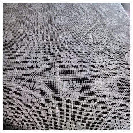 Toalhas grandes (são 5) em crochet (croché ou crochê)*