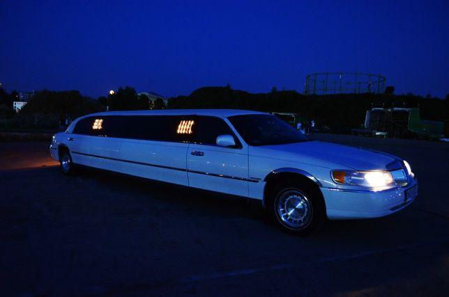 Auto do ślubu Wynajem limuzyna Lincoln 8-osob