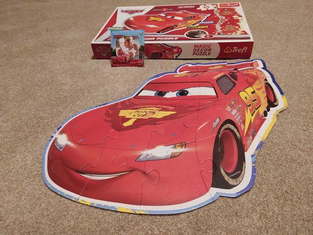 Magic Dekor Puzzle Auta Cars Zygzak