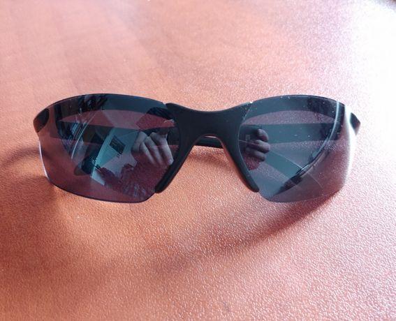 Okulary przeciwsłoneczne męskie czarne WAWA