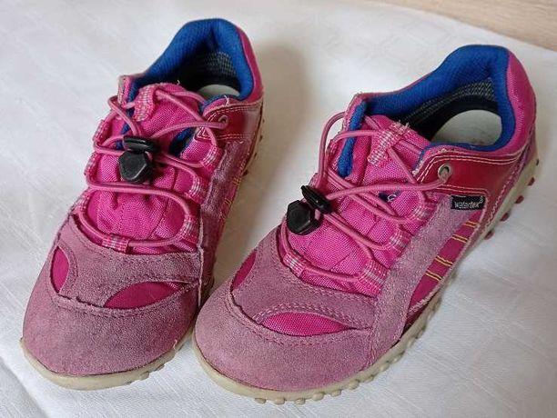 Супер кроссовки для девочки TWISTY Watertex р.33 /Ecco Merrell Salomon