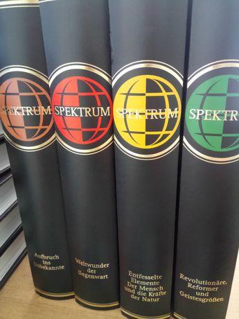 Encyklopedia 4 tomy Spektrum niemiecka niemieckojęzyczna