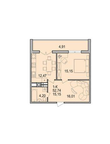 Продаю квартиру 53м2 від ВЛАСНИКА