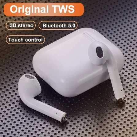 Airpod I12 tws - IOS/Android Bluetooth 5.0 . Branco/Preto