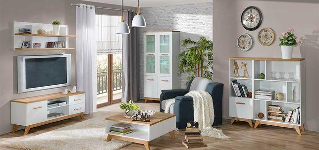 Zestaw mebli w stylu skandynawskim do salonu SVEN C
