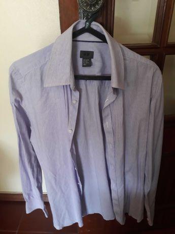 Camisa lilás H & M