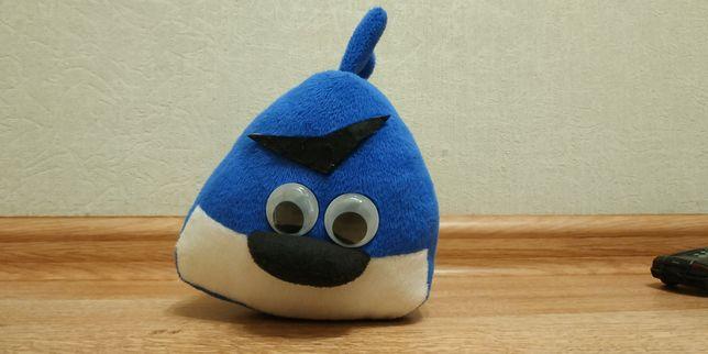 Мягкая игрушка синяя птичка