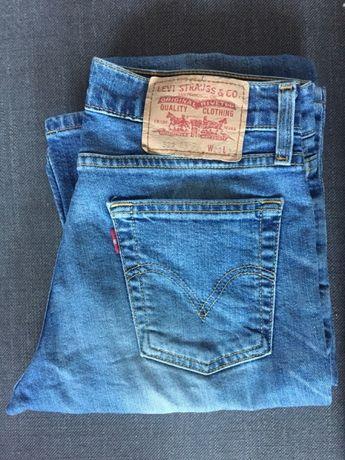 Długie jeansy dżinsy dla wysokiej dziewczyny Levi's 28/36