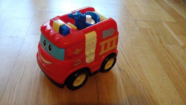 Wóz małego strażaka
