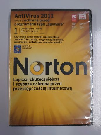 Symantec Norton AntiVirus 2011 PL – 1 użytkownik 1 rok