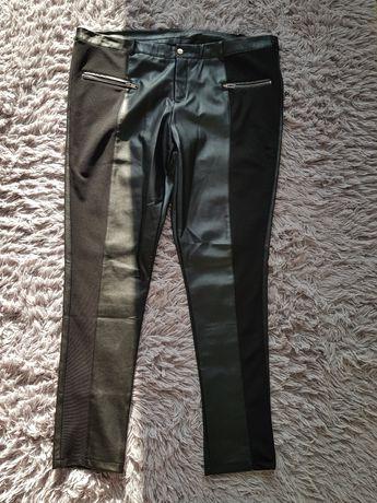 Spodnie Eko skóra r.48