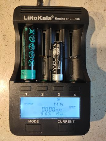 Универсально зарядное устройство LiitoKala Lii-500