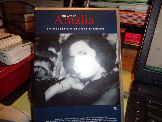 DVD da Amália The Art Of Usado