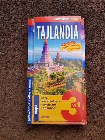 Tajlandia 3w1 - przewodnik + atlas + mapa, Katarzyna Brytek